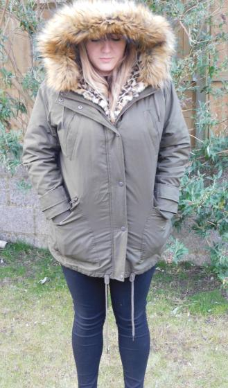 cropped coat photo